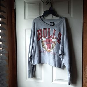 NBA Bulls Crop Top